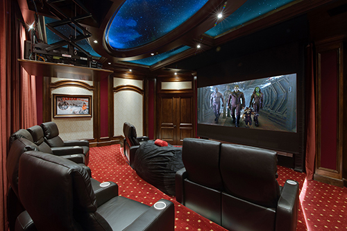 ELAN home theater