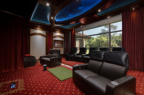 ELAN home theater day