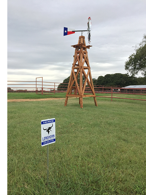 texas ranch windmill